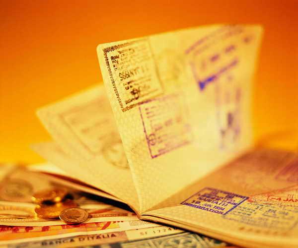 Подача документов на получение визы в визовый центр
