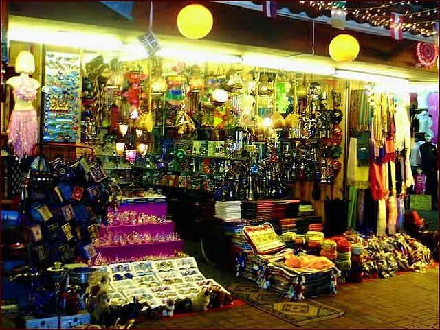 Турецкий базар в Аланье