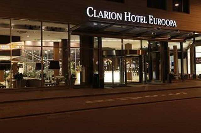 Эстонский отель Clarion Hotel Euroopa