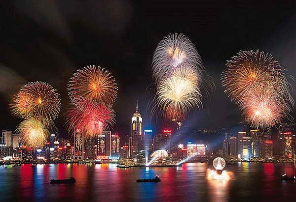 Новый год в Гонконге