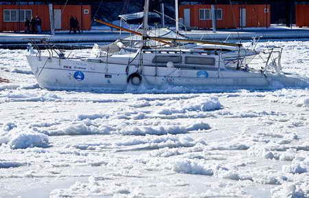 Одесса, море зимой