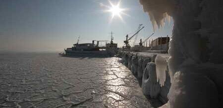 Черное море впервые за 30 лет заледенело