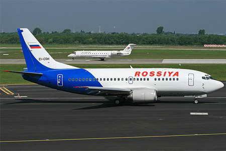 Самолеты виакомпании Россия
