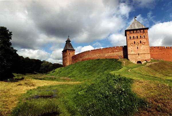 Новгород Великий, Детинец