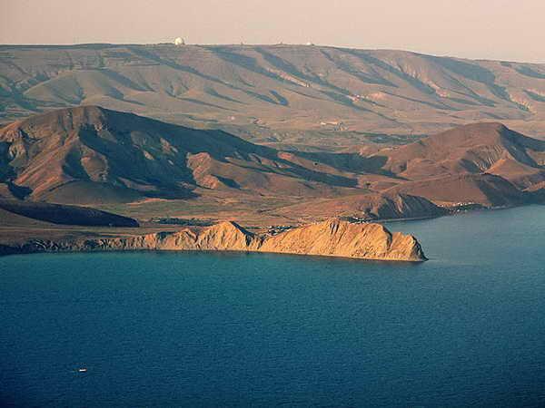Крым Коктебель гора Хамелеон