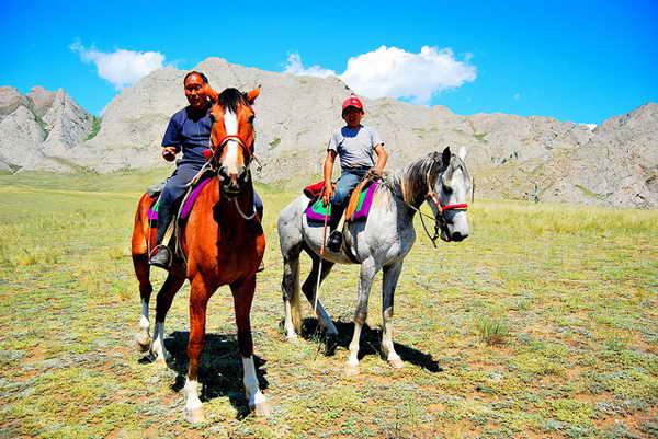 Конный туризм Алтай