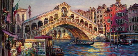 Мост Риальто — символ Венеции