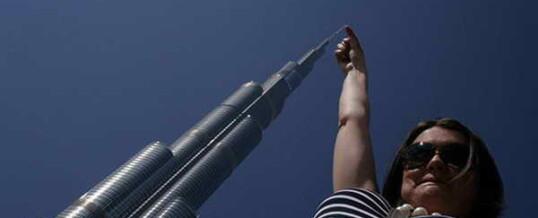 Дубай, башня Бурдж-Халифа — самое высокое здание мира