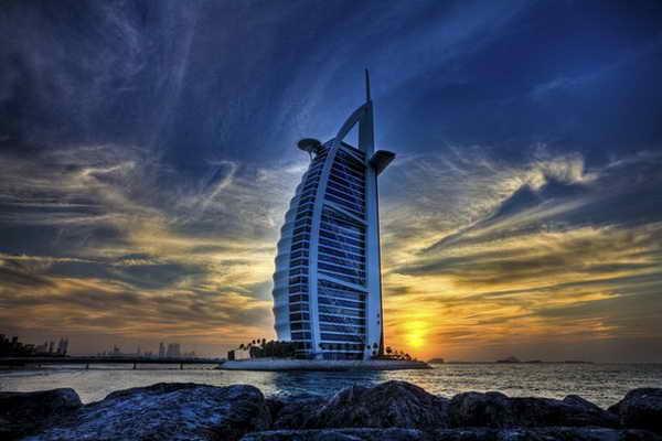 Гостиница Парус Дубаи ОАЭ
