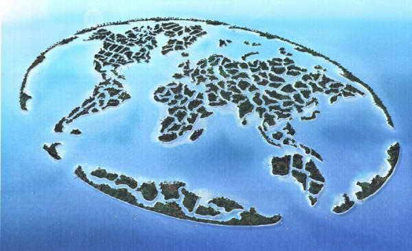Искусственный архипелаг Мир ОАЭ