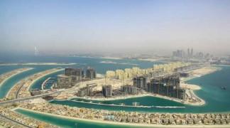 Пальма Джумейра — искусственный остров в Дубае