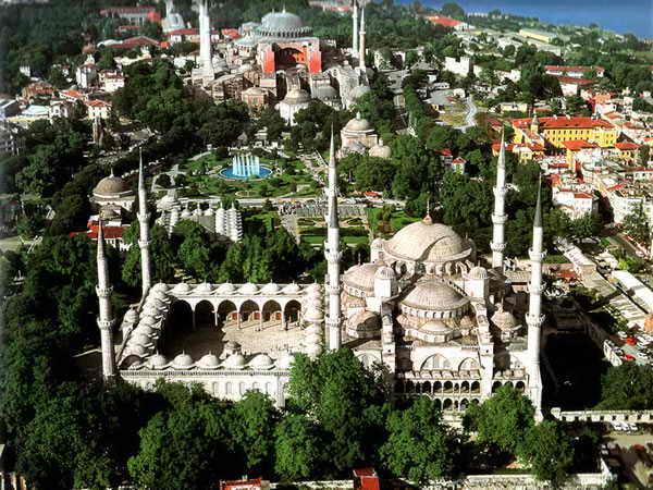 Султанахмет центр Стамбула