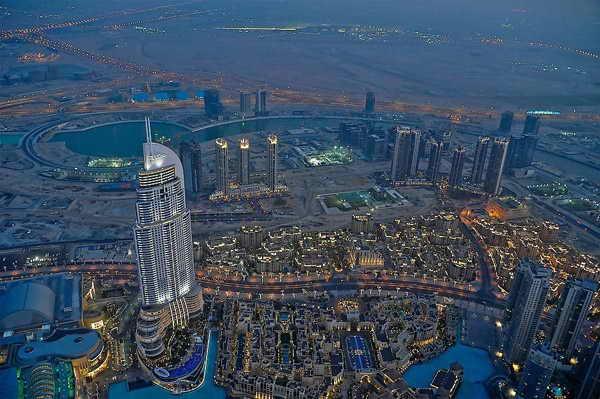 Дубай ОАЭ Бурдж-Халифа