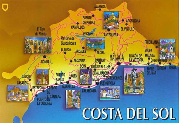 Курорты Коста дель Соль