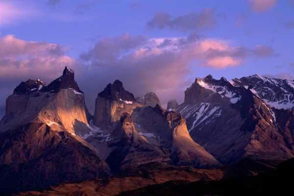 Путешествие в Анды, Южная Америка
