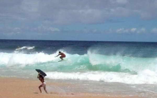 Пляж Оаху на Гавайях