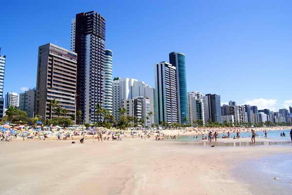Ресифе Бразилия Пляж Прайя-де-Боа