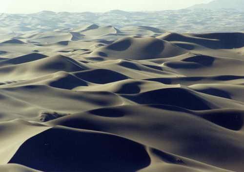 Пустыня Гоби в Азии