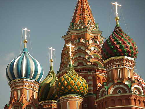 Москва, памятники