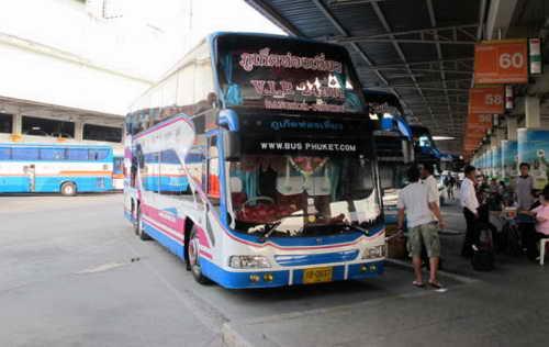 Автобус Бангкок-Пхукет