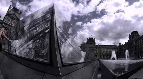 Достопримечательности Парижа Лувр