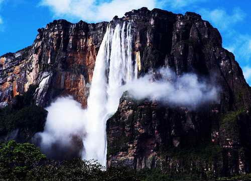 Самый высокий водопад Анхель