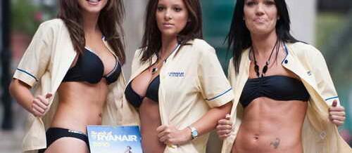 Обнаженные стюардессы Ryanair