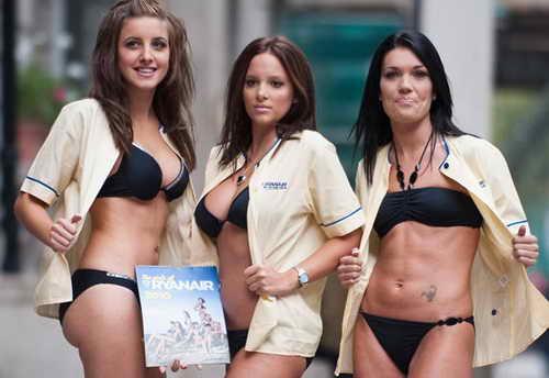 Стюардессы Ryanair