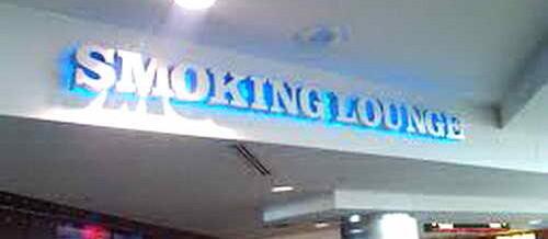 Места для курения в аэропортах США
