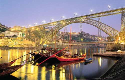 Поездка в Порту, Португалия