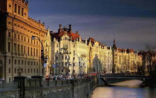 Чехия, Прага, Влтава