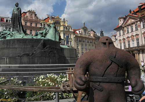 Голем в Праге