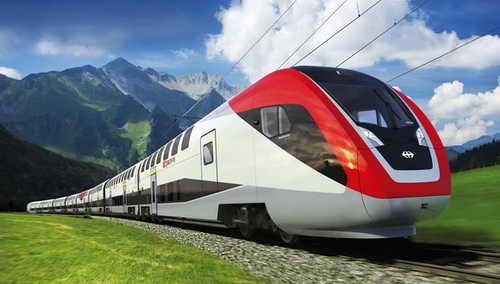 Поездка поездом
