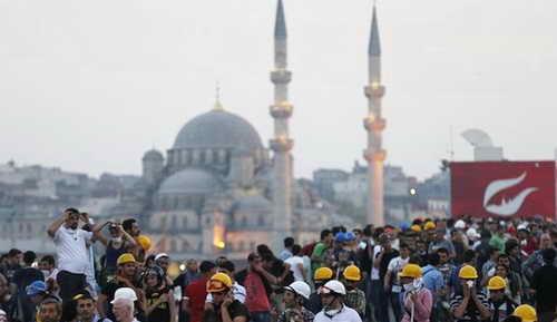 Стамбул протесты