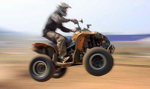 Путешествие в пустыне на квадроцикле
