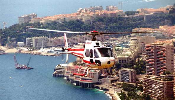 Вертолет-такси Лазурный берег