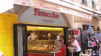 Мороженное в Ницце Кафе Феноккио