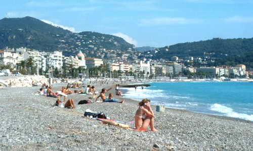 Пляжный отдых Ницца