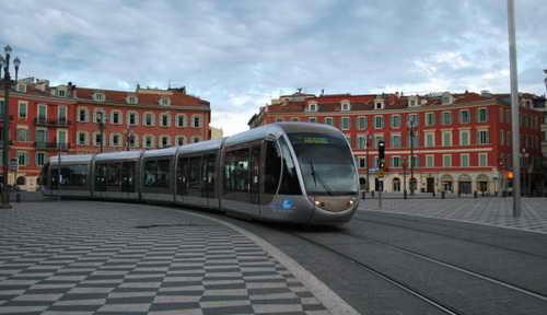 Ницца трамвай