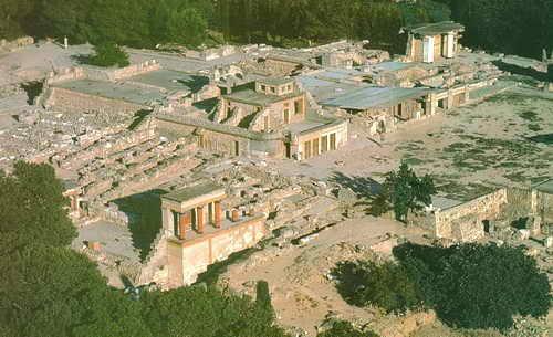 Кносский дворец Крит Греция
