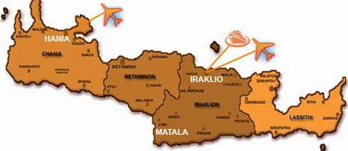 Матала – город хиппи на острове Крит, Греция