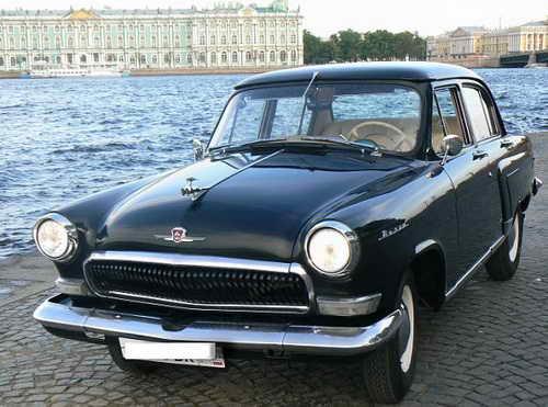ГАЗ-21 Волга аренда СПБ