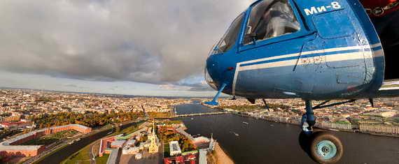 Санкт-Петербург с воздуха