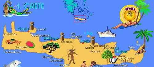 Чудесные места острова Крит