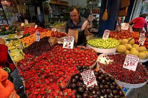 Салоники рынок
