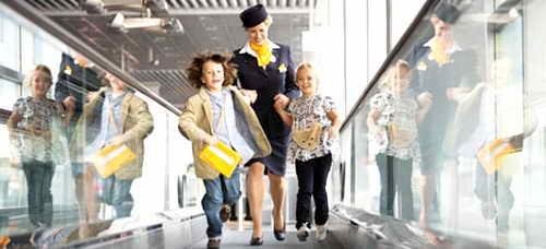 перевозка детей самолетом без родителей