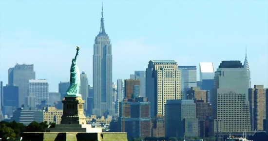 Нью-Йорк Манхэттен