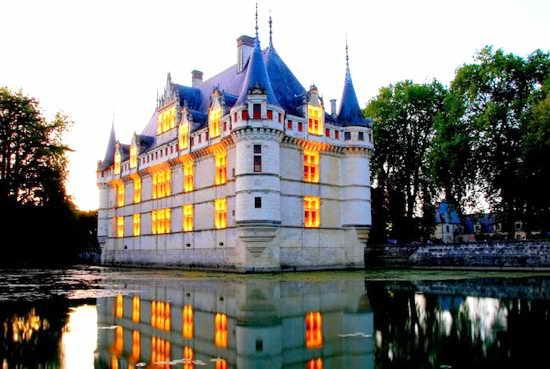 Франция Замки