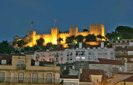 крепость Святого Георгия Лиссабон