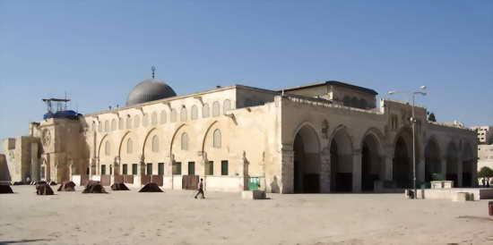 Мечеть Аль-Акса Иерусалим Израиль